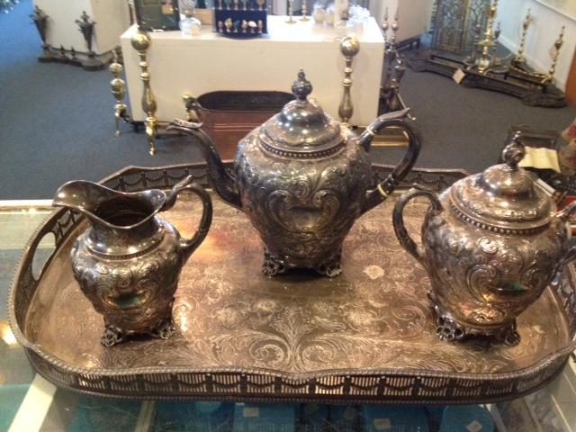 Tea Service - Before